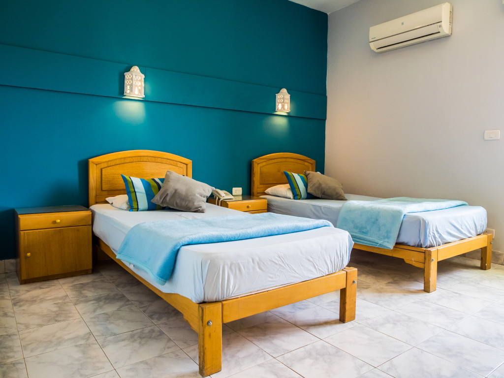 De kamers nemo dive club hotel - Blauwe kamer kind ...