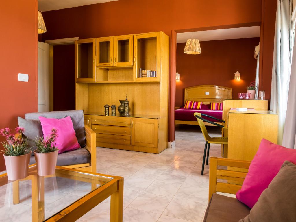 Rode kamer - Suite