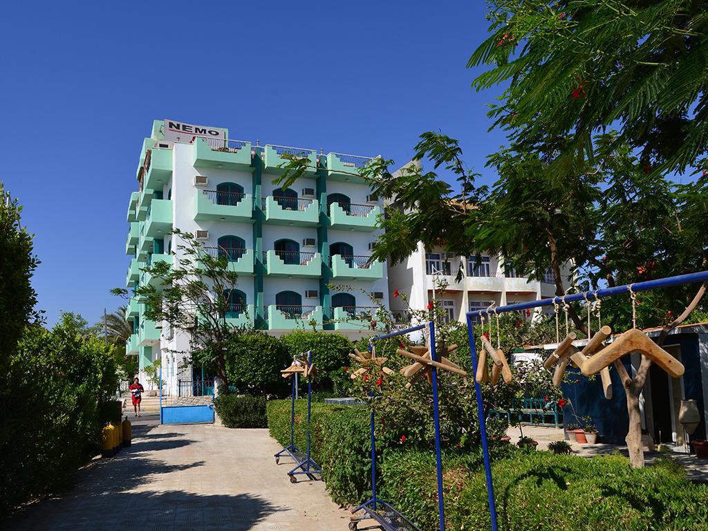 Nemo Dive Club & Hotel, Safaga, Egypte